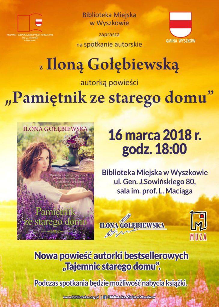 ilona gołębiewska marzec 2018